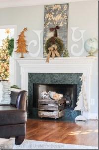 Christmas Mantel Decorating Ideas - Rustic Crafts & Chic Decor