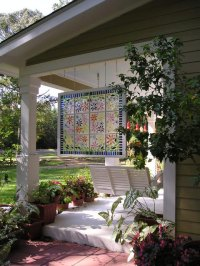 Outdoor Decorating With Old Windows - Rustic Crafts & Chic ...