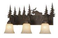 Vaxcel Yellowstone Indoor 3 Light Vanity Light
