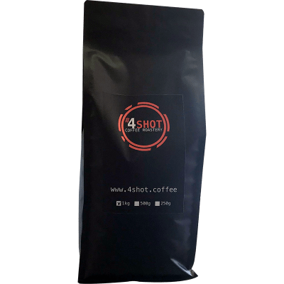 4Shot Coffee Medium/Dark Roast 1Kg