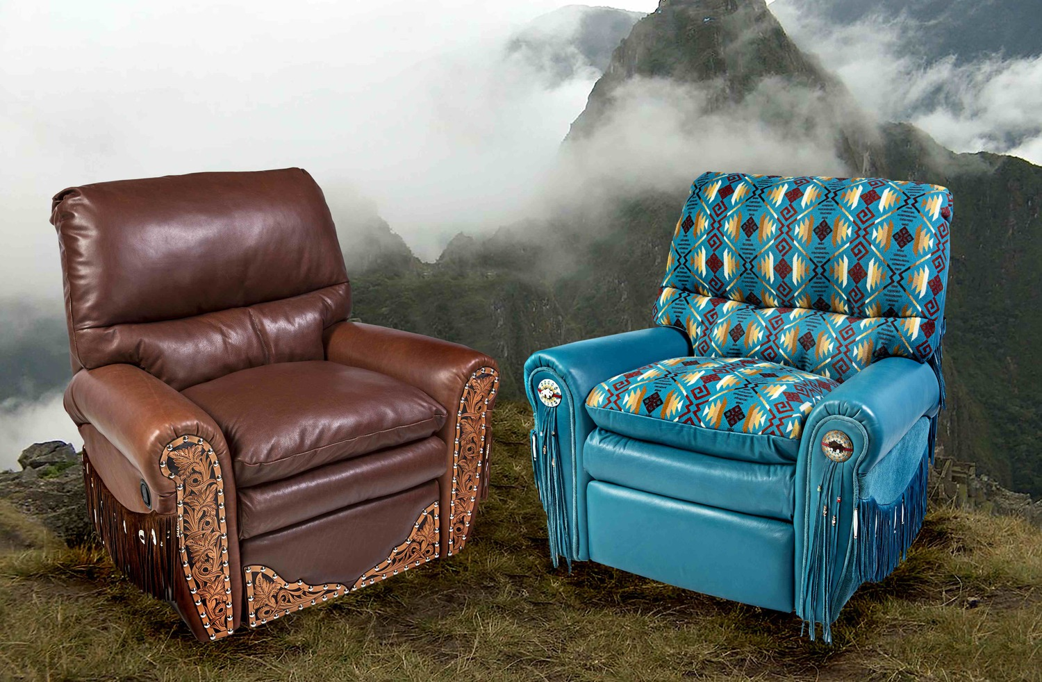 Stylish Recliner The Ultimate Recliner Leather And Cowhide