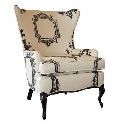 The rustic chic wing chair rustic chic