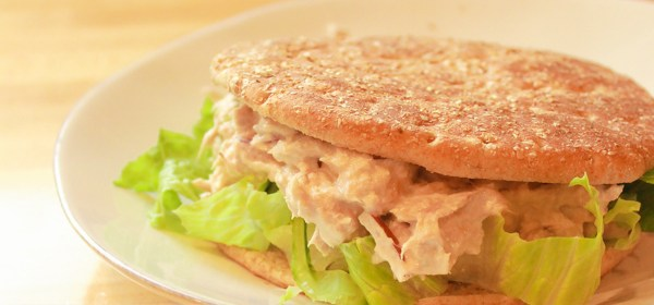 Easy & Light Tuna Salad Sandwiches