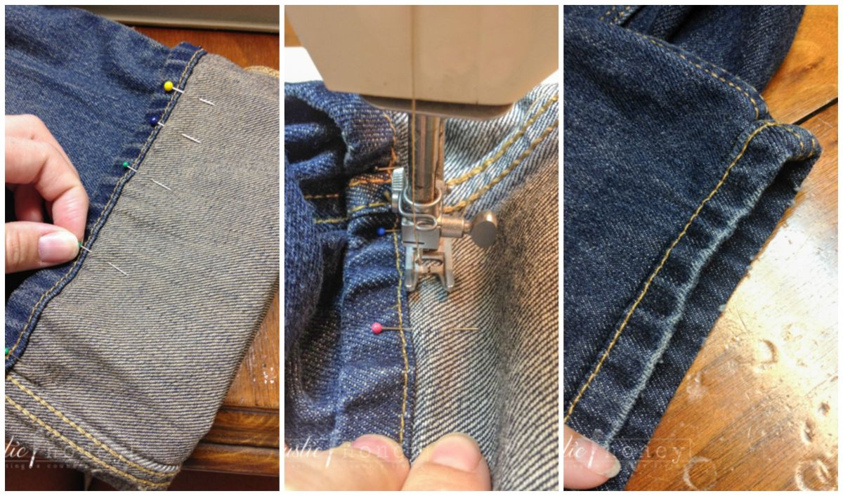 DIY: Hem Your Jeans Like A Pro