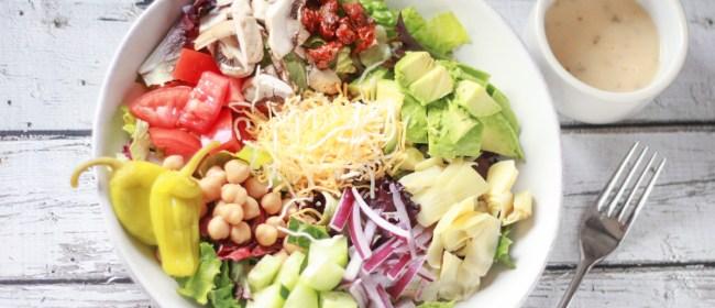 DIY Salad Bar Ingredient List – FREE PRINTABLE!