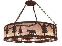 Copper Canyon PEG290 Rustic Chandelier - Rustic Lighting ...