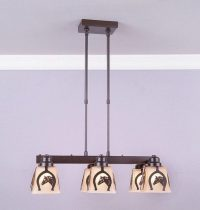 Avalanche Ranch Lighting Woodland 6 Light Chandelier ...