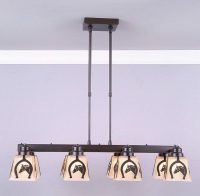Avalanche Ranch Lighting Woodland 8 Light Chandelier ...