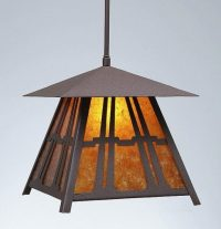 Avalanche Ranch Lighting Large Smoky Mountain Pendant ...