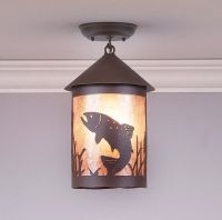 Avalanche Ranch Lighting Cascade Lantern Medium Ceiling ...