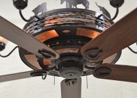 Copper Canyon Rancher Ceiling Fan - Rustic Lighting and Fans