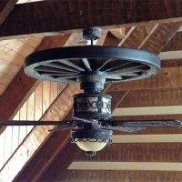Wagon Wheel Ceiling Fan | The Wagon