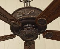Cooper Canyon Western Star Ceiling Fan - Rustic Lighting ...