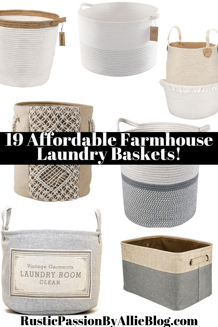 Cute Laundry Hamper 19 Stylish Laundry Hampers With Lids Other Affordable Farmhouse