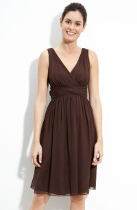 Ask Maggie: Brown Bridesmaids Dresses For A Country ...