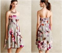Pattern Bridesmaid Dresses - Rustic Wedding Chic