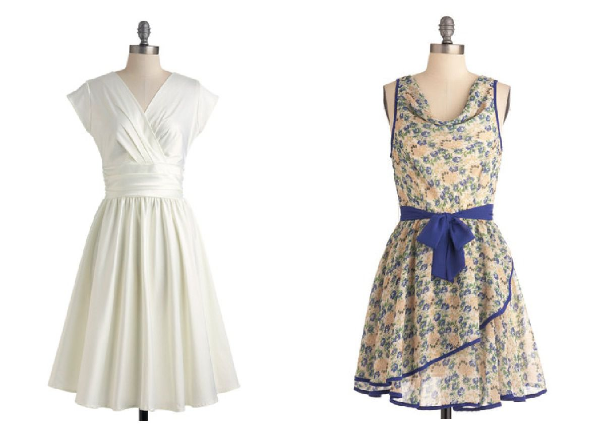 Style Vintage Retro Style Bridesmaid Dresses For A Vintage Wedding