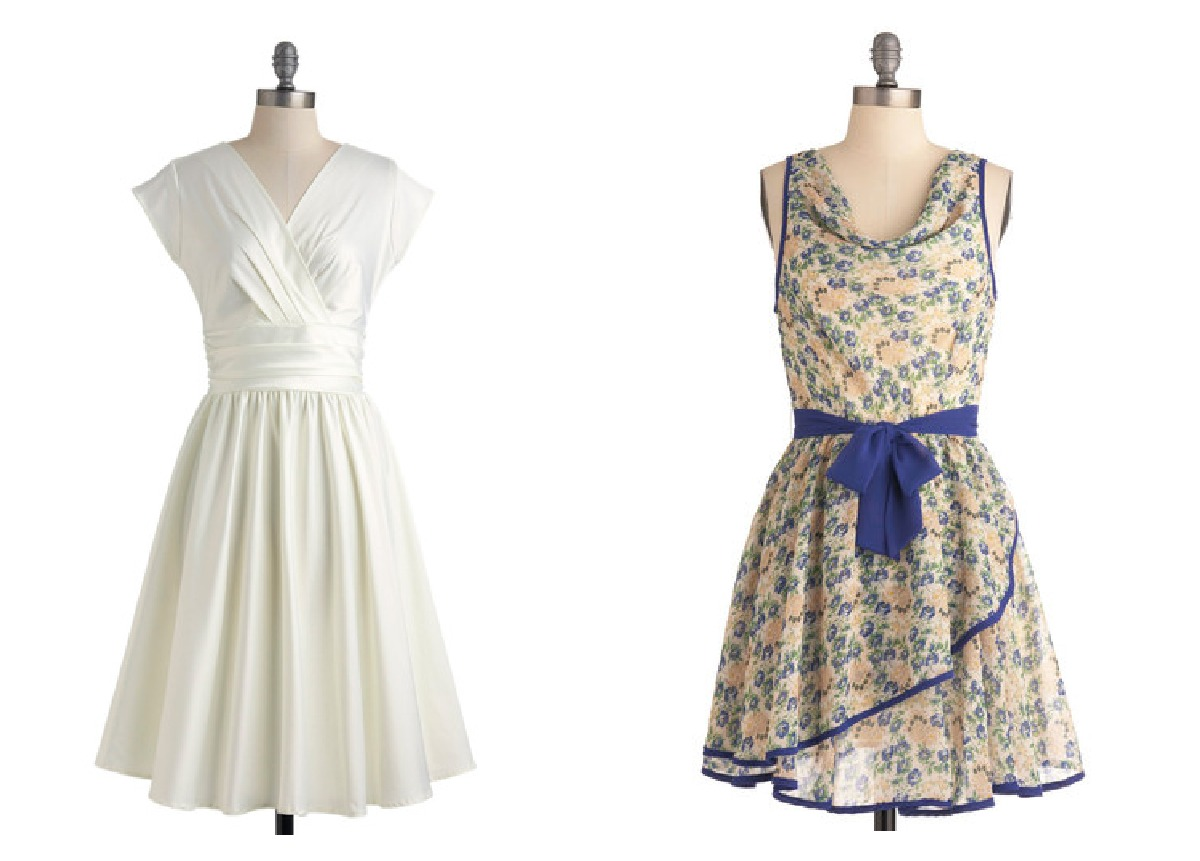 Look Retro Retro Style Bridesmaid Dresses For A Vintage Wedding
