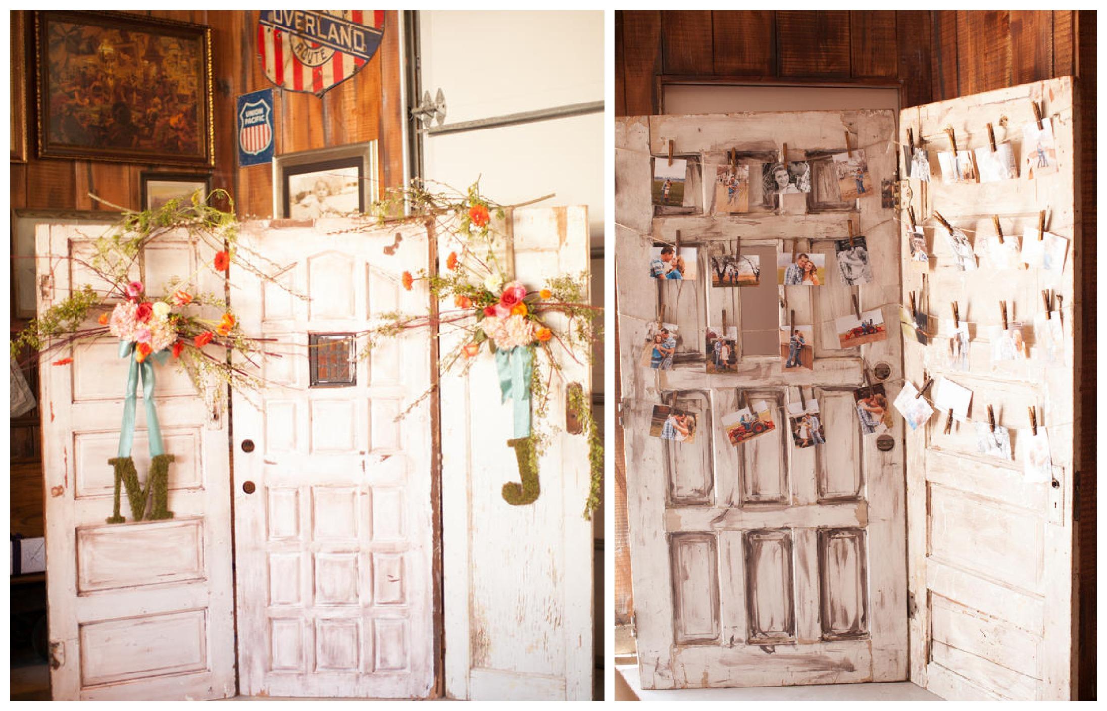 Декор уличных дверей своими руками фото