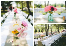 Rustic Wedding Table Centerpiece Ideas