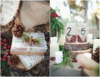 Wedding Ideas: Rustic Winter Wedding