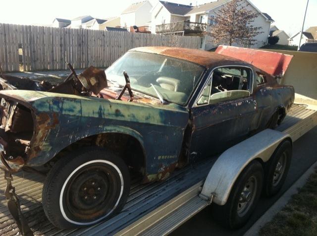 Rusting Mustangs