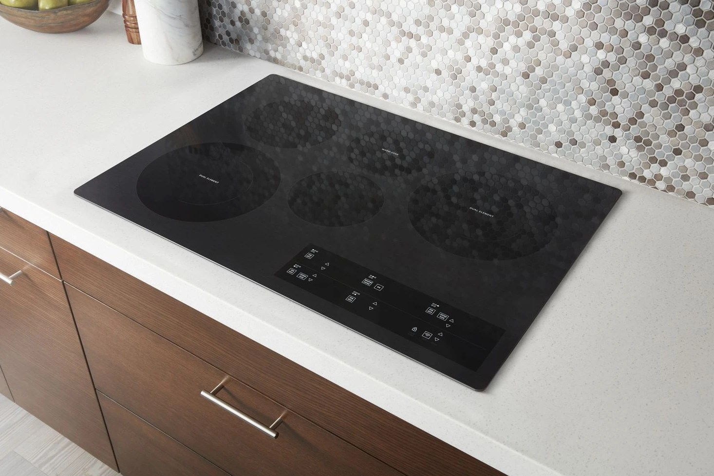 Whirlpool Countertop Stove Whirlpool 30 Electric Cooktop Black Wce97us0hb Home Appliance