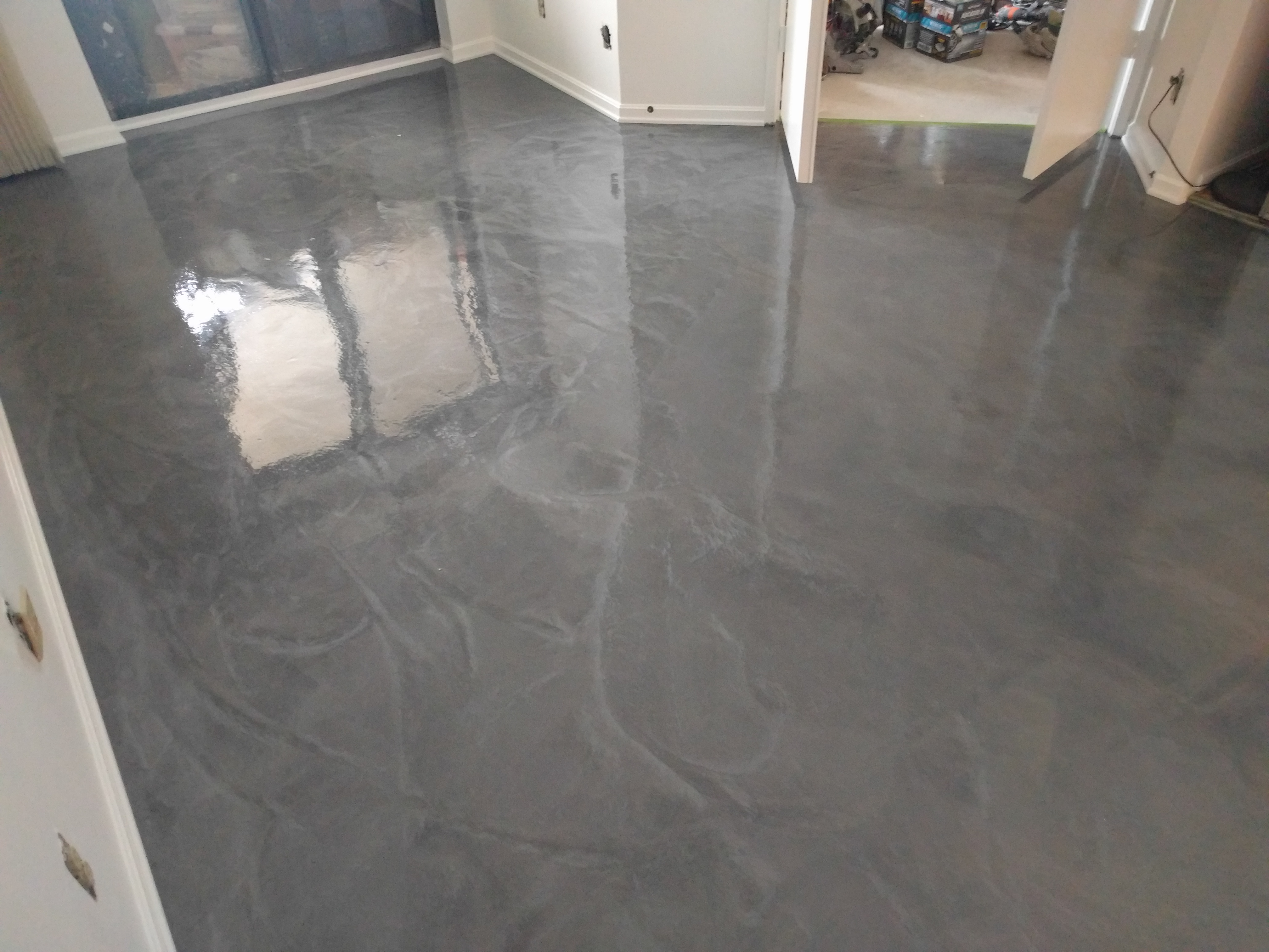 Painting Floor Tiles Australia After
