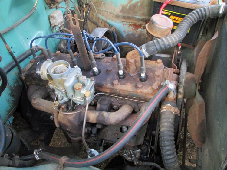 Mouse Wiring Diagram Car With A Story 1952 Studebaker Champion Rusty But Trusty