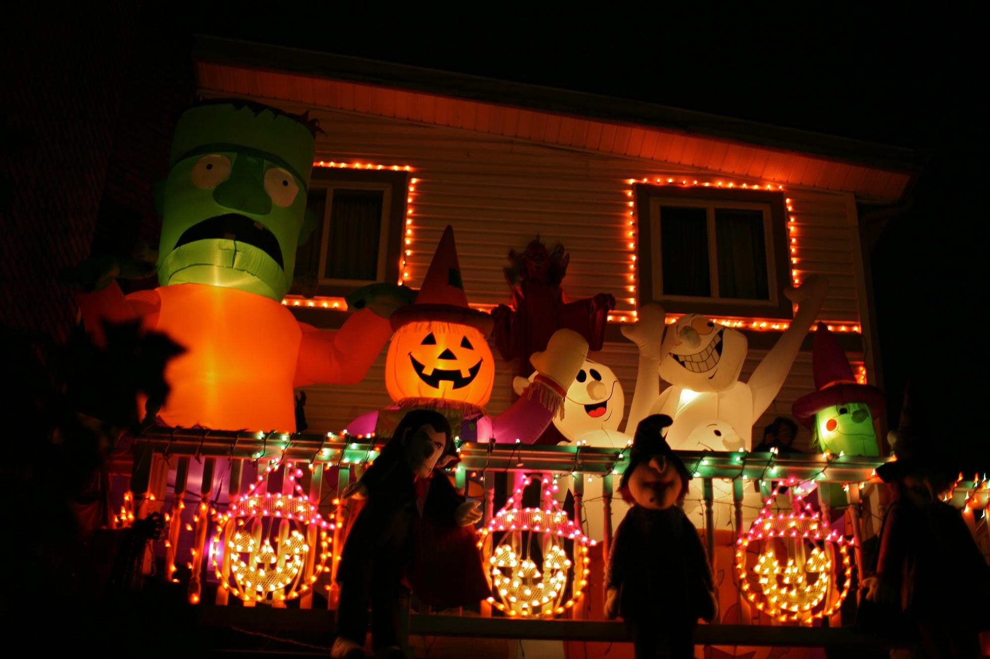 Outdoor inflatable halloween decorations - Outdoor Inflatable Halloween Decorations Halloween House Download
