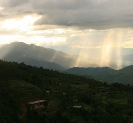 Monsoon season in Far Western Nepal