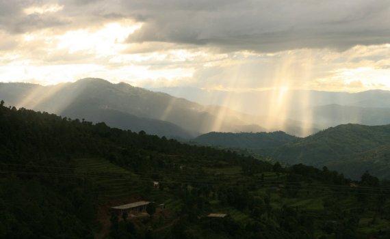 Monsoon season in Far Western Nepal