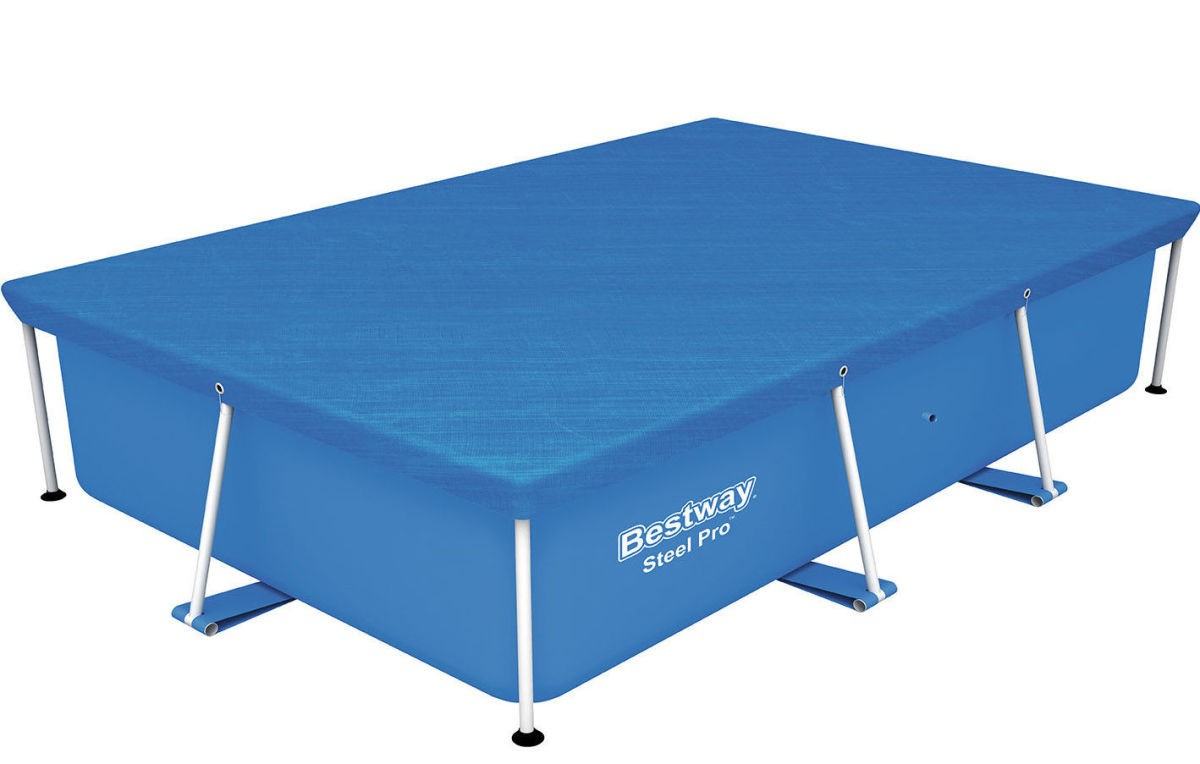 Solarplane Pool Intex 305 Bestway Abdeckplane 259x170cm Für Frame Pools 58105