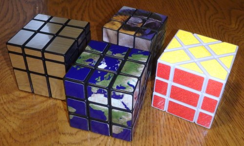 Rubik\u0027s Cube and puzzle stickers