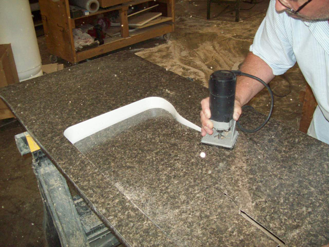 Lamilight - Laminate Counter Top And Undermount Sink Installation