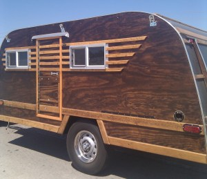 side view of the home made rv