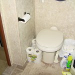 Our RV Toilet could SPEAK – it told us the black tank was full!