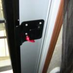 RV Door and Door latch