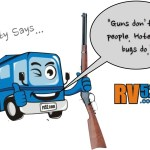 Fitty the RV weighs in on the gun control problem (tongue in cheek)