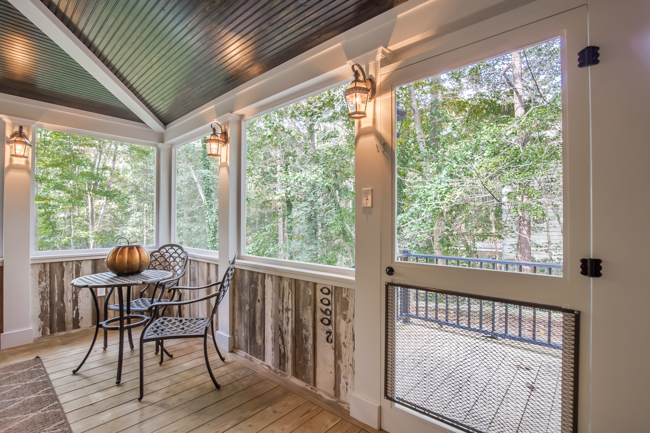Propeller Ceiling Fan Country Style Screened Porch In Chesterfield Va | Rva