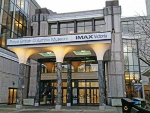BC Royal Museum and IMAX Theatre, Victoria, BC.