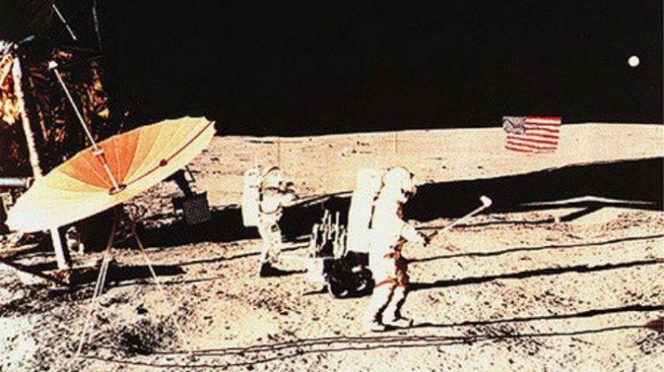 Golfing on the moon, 45 years ago today