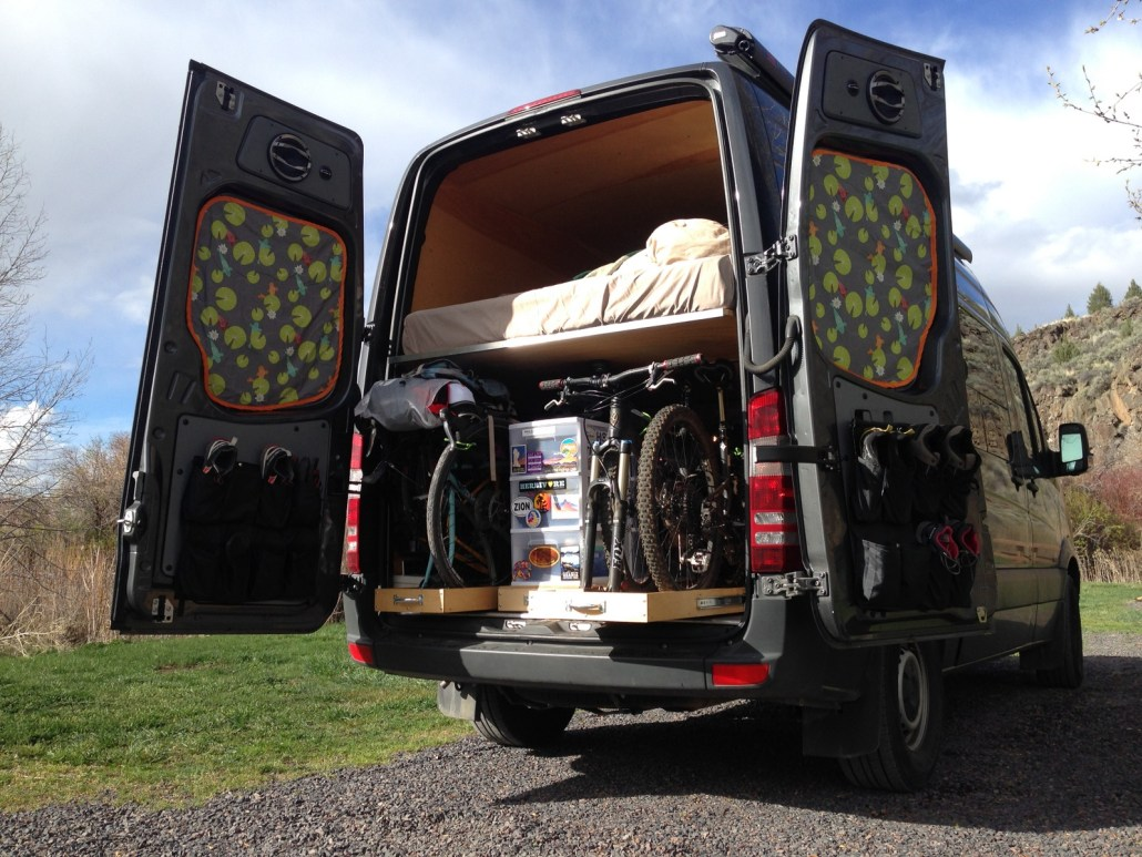 Hemelbed Hout Beautiful Sprinter Van Conversions | Rv Obsession