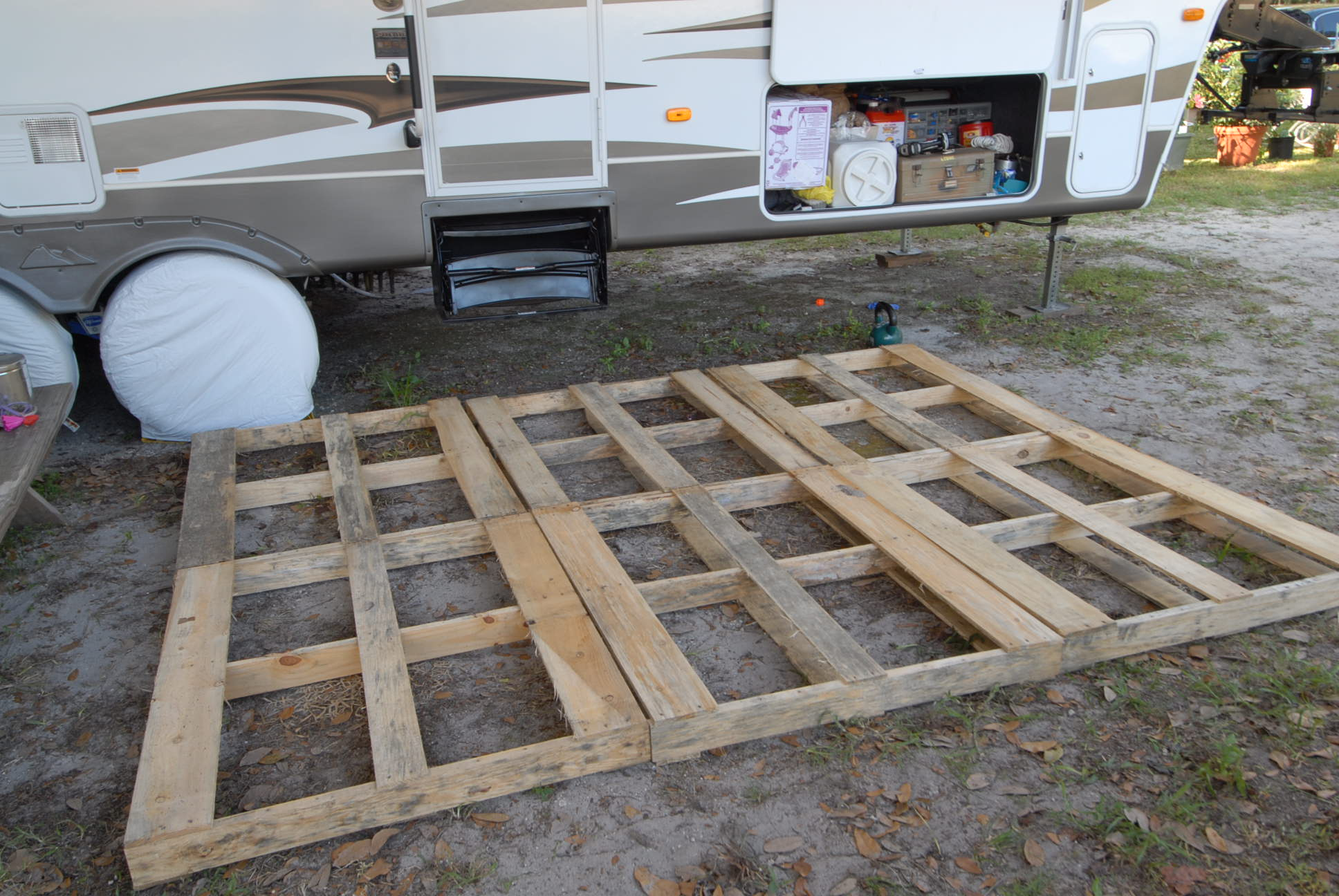 Portable Deck Diy Deck Rv Ranger Family