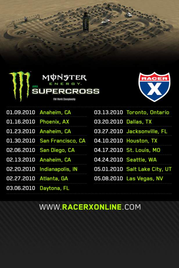 Monster Energy Iphone Wallpaper 2010 Sx Schedule Iphone Wallpaper Racer X Online