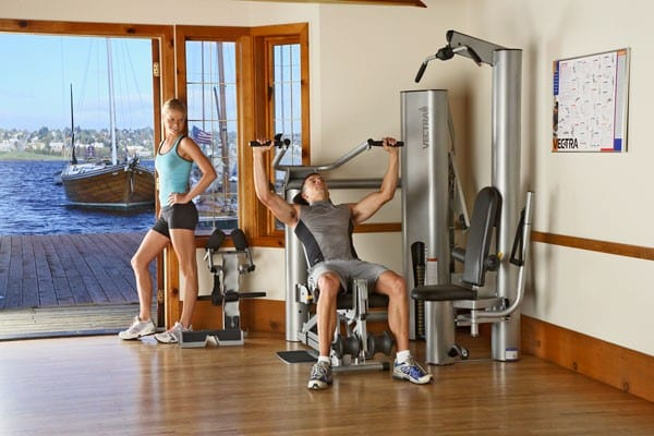 On Line 1450 Big Gym Small Space Rx Fitness Equipment