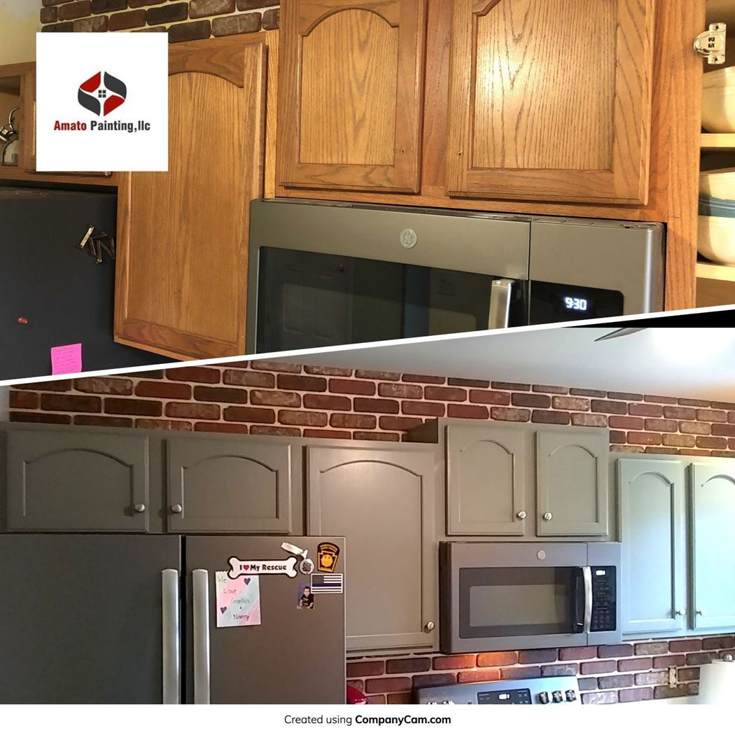 Kitchen Cabinet Painting In Easton Pa Ryan Amato Painting
