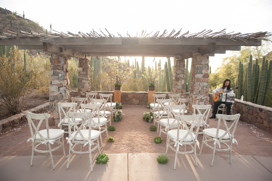 Desert Botanical Garden Wedding Garden Ftempo
