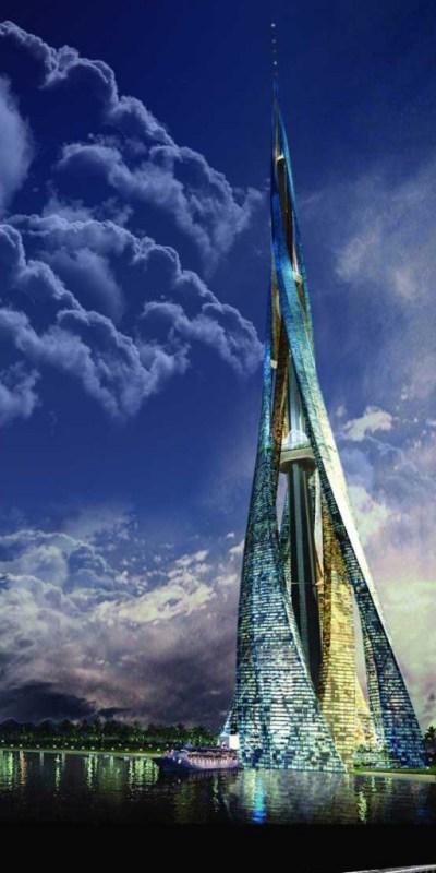 Dubai city tower | A Speakers Corner
