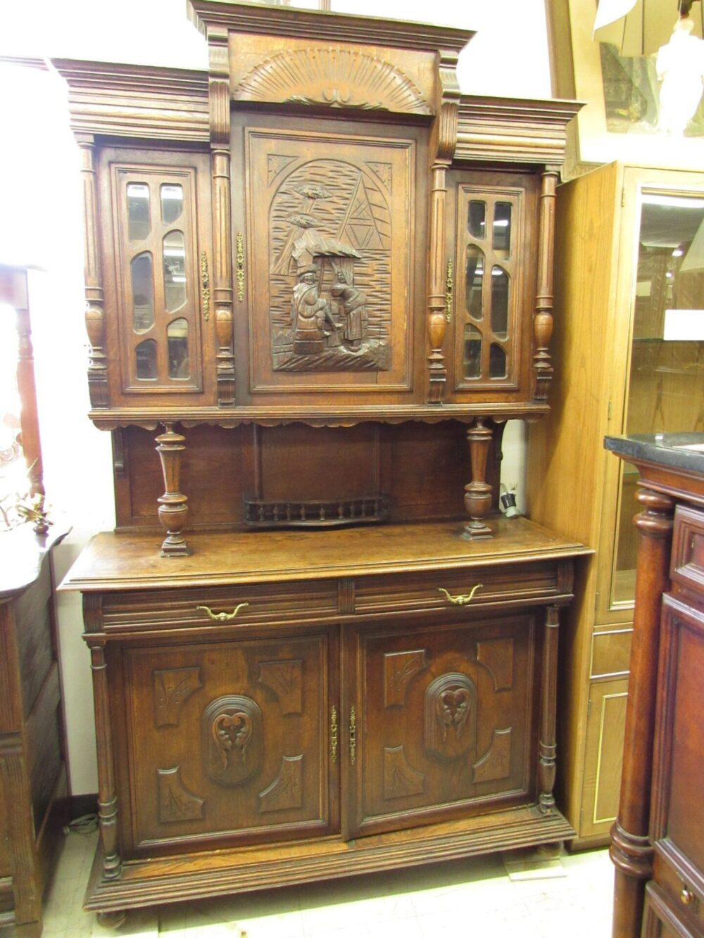 Antique European Kitchen Cabinets Antique European Carved Court Cupboard Cabinet Ryan 39s Relics